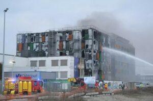 Incendie datacenter