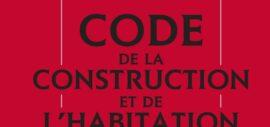 Code de la Construction et de l'Habitation – Nouvelle codification